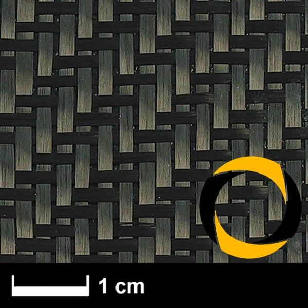 Kohlegewebe 160 g/m² (Non Aero, KP) 100 cm